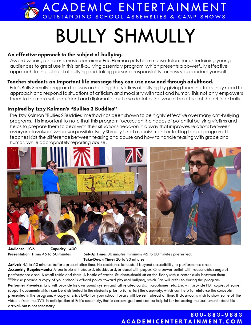 /Bully Shmully Datasheet
