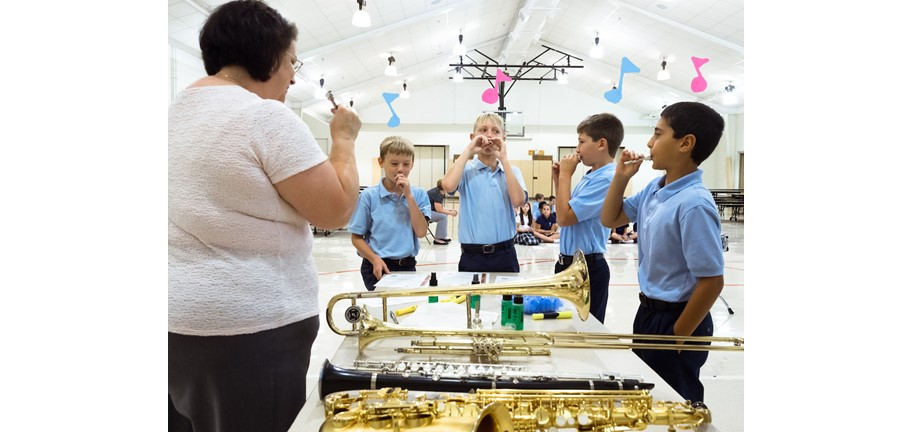 Band for Today in-school music lessons for kids