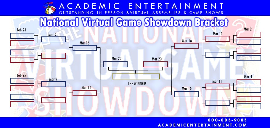 Game Tourney Bracket March 2021