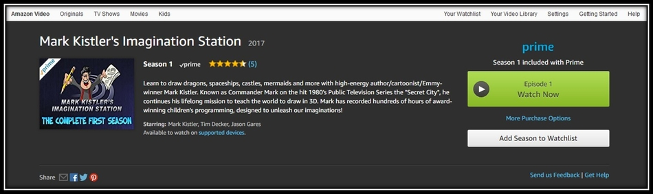 Imagination Station on Prime Video