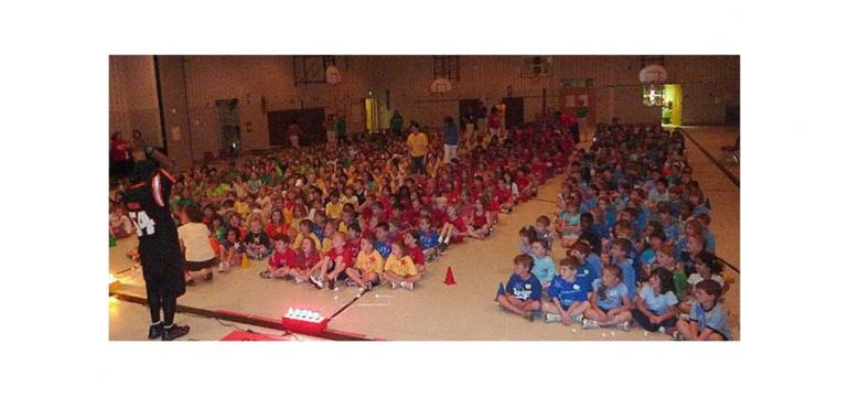 Unique Game Show school assembly