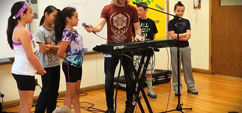 Music Technology Summer Camp Show School Assembly Program