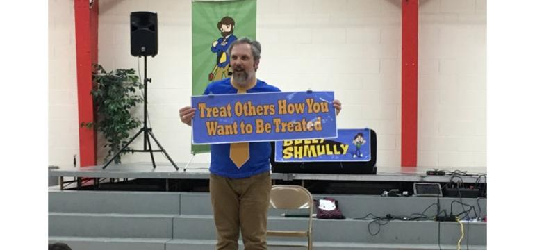 Bully Shmully school assembly