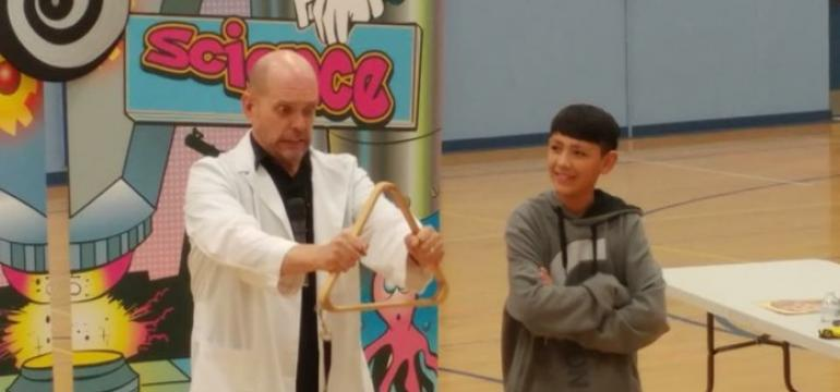 Wacky Science school assembly