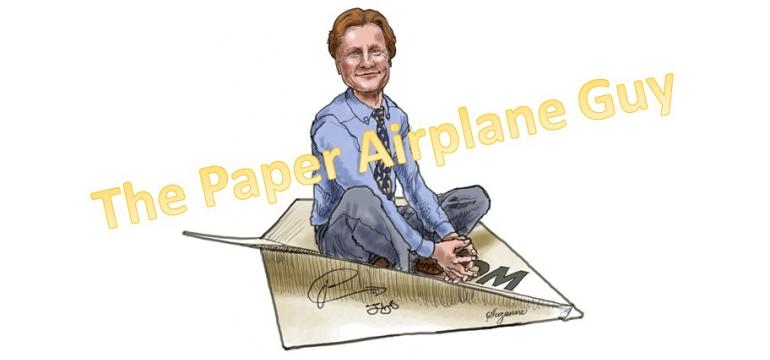The Paper Airplane Guy School Assembly
