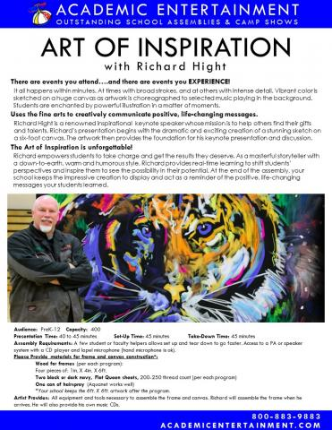 Datasheet Art of Inspiration School Assembly