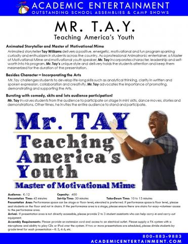 Datasheet Mr. Tay School Assembly