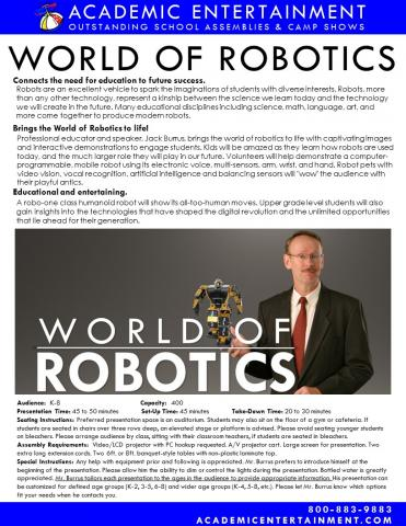 Datasheet World of Robotics School Assembly