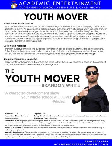 Youth Mover Datasheet