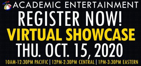 Register NOW Virtual Showcase October 15