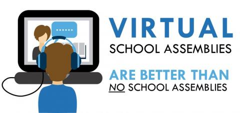 Benefits of Virtual School Assemblies