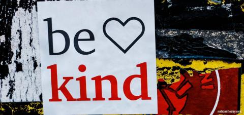 World Kindness Day is November 13
