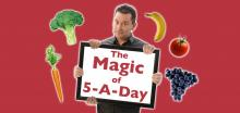 Magic of 5-A-Day school assembly