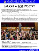 Laugh A LOT Poetry datasheet