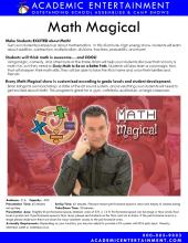 Math Magical datasheet
