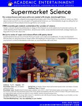 Supermarket Science datasheet