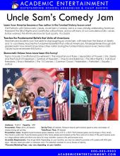 Uncle Sams Comedy Jam datasheet