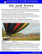 Up and Away datasheet