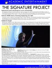 The Signature Project Datasheet