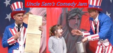 Uncle Sam's Comedy Jam school assembly
