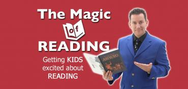 Magic of Reading school assembly
