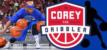 Corey the Dribbler school assembly