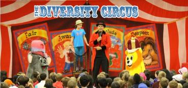 Diversity Circus school assembly