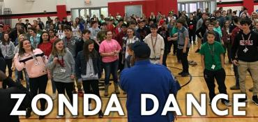 Zonda Dance school assembly