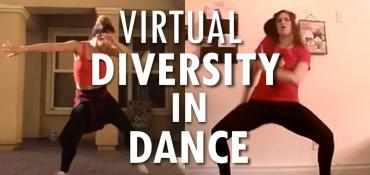 Virtual Diversity of Dance School Assembly and Summer Camp Entertainment