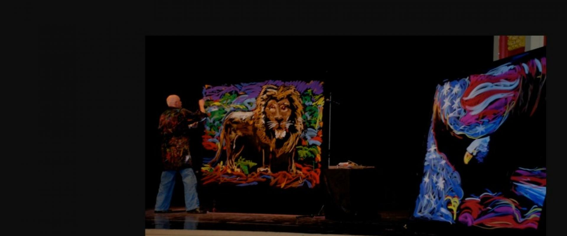 The Art of Inspiration school assembly